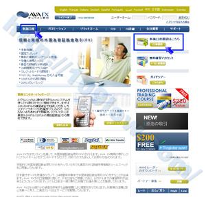 AVA FXのAva Trader口座を開設する場合