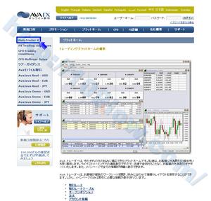 AVA FXのAva MetaTrader口座を開設する場合2