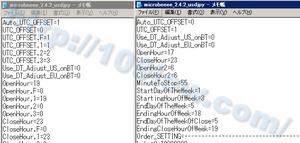 EAプロパティとStrategyTesterのセットファイル比較
