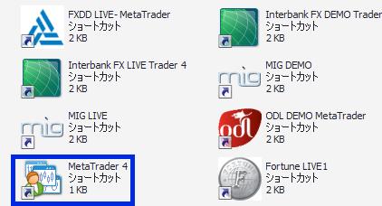 121証券【RobotFX】のアイコンがMetaquotes社のもので分り難い