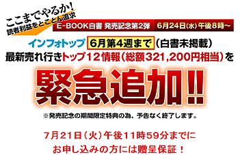 E-BOOK白書/投資・資産運用編2009に特典が追加!