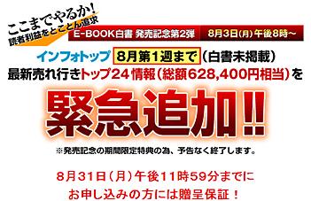 E-BOOK白書/投資・資産運用編2009の特典が更に追加!