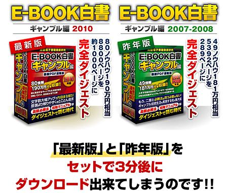 E-BOOK白書/ギャンブル編2010年版
